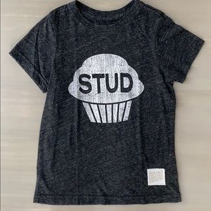 Retro Brand Vintage Stud Muffin Tri-Blend T-Shirt